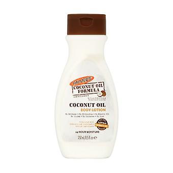 Loção corporal Óleo de coco 250 ml de óleo