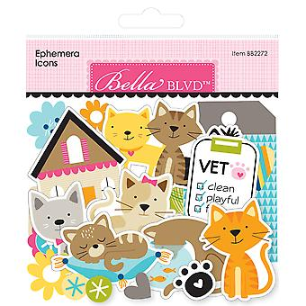 Bella Blvd Chloe Ephemera Icons (103pcs) (BB2272)