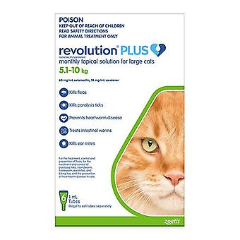 Revolution Plus for Large Cats 11.1-22 lbs (5.1-10 kg) - 6 pack