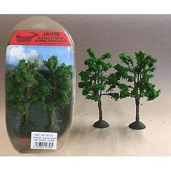 Countryside Trees Type 15 - 2 x 120mm OO Gauge