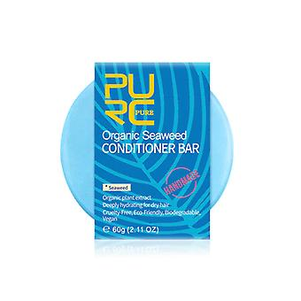 Haar Algen Conditioner Bar handgefertigt, solide Haar Conditioner Seife tragbar