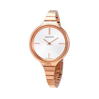 Calvin klein  women's watch with deployante fastening