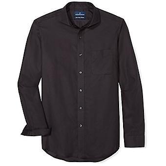 BOTONADO ABAJO hombres's classic Fit Supima algodón Cutaway-Collar vestido casual Shi...