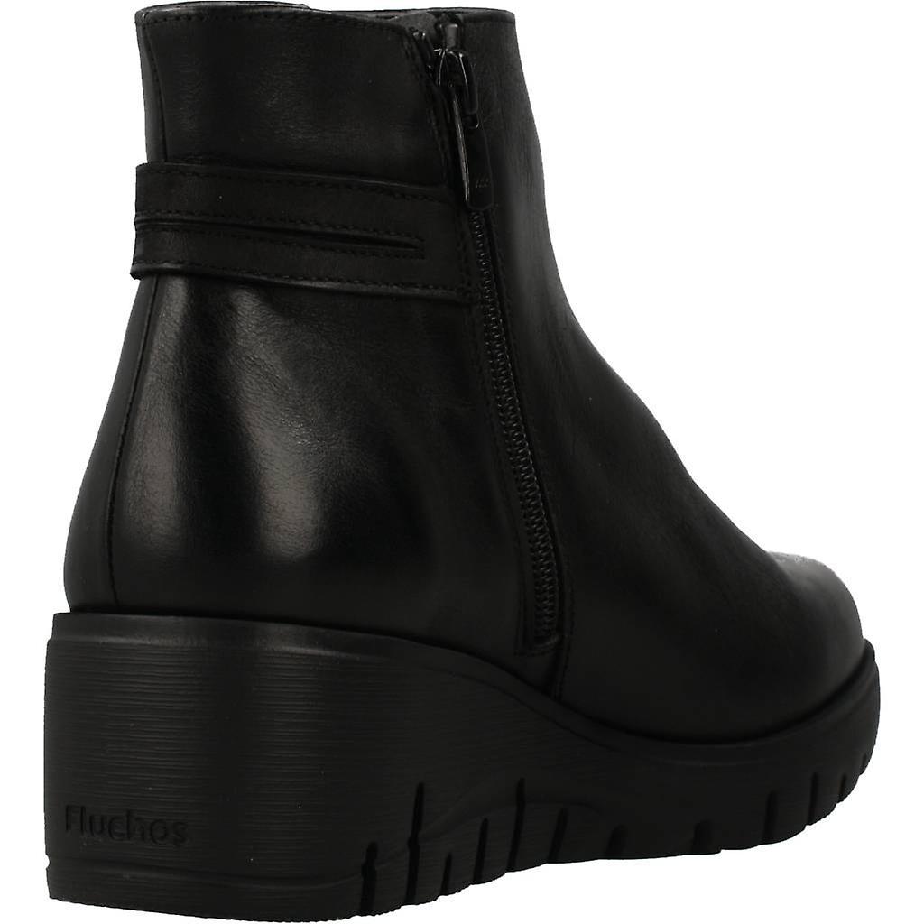 Fluchos Ankle Boots F1014 Black Color
