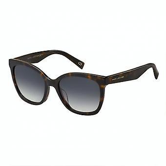 Sunglasses Women Rectangular Havana