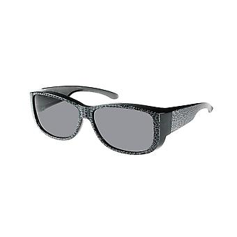Sunglasses Unisex grey / black with grey lens VZ0035S1