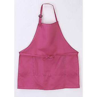 Plain Apron Kitchen Cooking Baking Painting Cooking Art Bibs Solid Children Housekeeping Toys