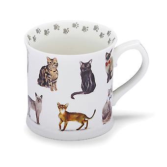 Cooksmart Curious Cats Tankard Mug