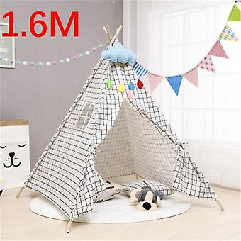 1.6m House For Tent Portable Kids Tent Cabana Tipi Infantil, Baby Teepee Tents
