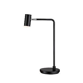 Belid Cato - 1 Lampe de table légère Matt Black, GU10