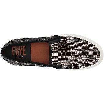 FRYE Women's Gia Canvas Slip on Sneaker