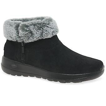 Skechers On The Go Joy Savvy Womens Ankle Boots