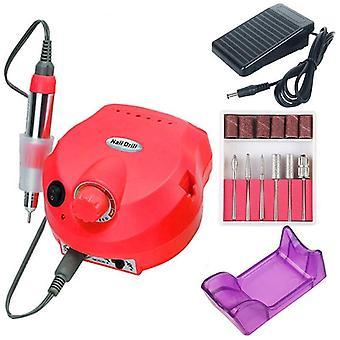 Elektrický hřebík vrtací stroj - manikúra, pedikúra broušení zařízení