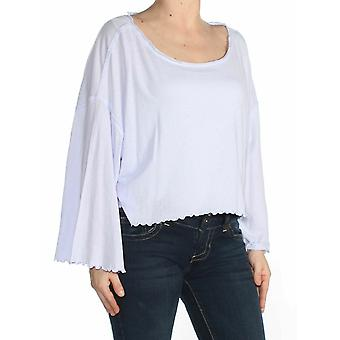 Free People | Cropped Top 3/4 Sleeve T-Shirt
