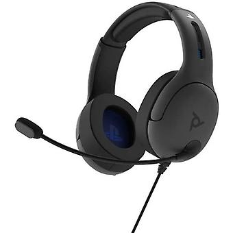 PDP LVL50 Wired Stereo Gaming Headset PS4 - Grey