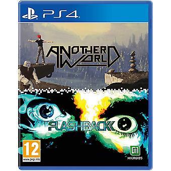 Een andere wereld en flashback Double Pack PS4 Game