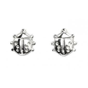 Beginnings Sterling Silver A962 Ladybird Stud Earrings