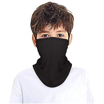 Children's Rave Facemask Collo Gaiter Tube Headwear for Boys And Girls Scarf Washable Windproof Cover