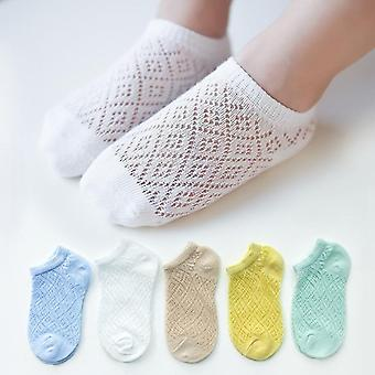 Children Cotton Socks, Cute, Ultrathin Casual Mesh Soft Socks For Spring,
