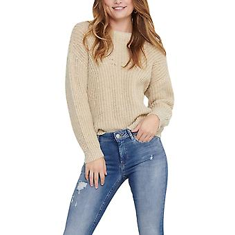 Only Women's Fiola Structured Knitted Sweater Regular Ft