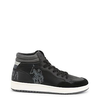 Us polo assn. 4116w9 men's suede synthetic leather sneakers