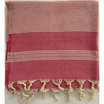 Aqua Perla Marmaris Turkish Towel Pink Peshtemal Cotton