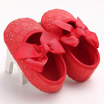 Cute, Soft Sole, Floral Slip-on Spring Autumn Shoes For Baby