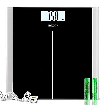 Etekcity high precision digital body weight bathroom scales weighing scale with step-on technology,