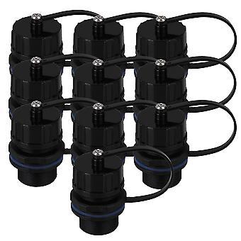 10pcs 8-Core M20 RJ45 AP Ethernet LAN Connector IP68 Waterproof Protection