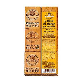 Cedar fragrance for drawers (6 pieces) 70 g
