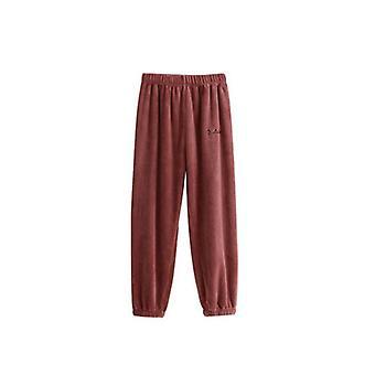 Kvinner Flanell Pyjamas