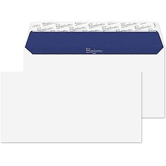 Blake Premium Pure DL 110 x 220 mm 120 gsm Recycled Peel & Seal Wallet Envelopes - Pack of 500