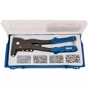 Draper Tools Rivet Pistol Set Blue 27843