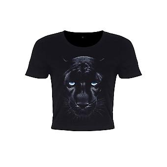 Unorthodox Collective Womens/Ladies Panther Crop Top
