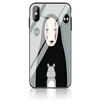 Apple iPhone 7/8 Mukautettu Anime Karkaistu lasikotelo - Monivärinen # 23