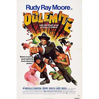 Dolemite Us Poster Rudy Ray Moore 1975 Movie Poster Masterprint