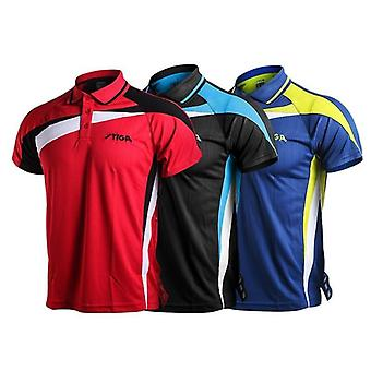 Table Tennis Sportswear Quick Dry Short Sleeved Shirt