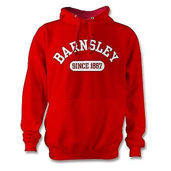 Barnsley 1887 establecidas fútbol sudadera con capucha