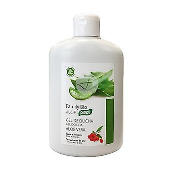 Organic Aloe Vera Shower Gel 400 ml (Aloe vera)