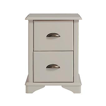 Bear 2 drawer compact bedside cabinet