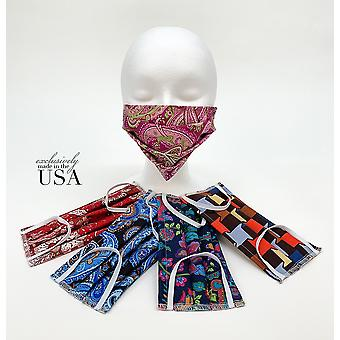 Personal Face Mask 5 Pc Assortment Ships Today Washable Reusuable