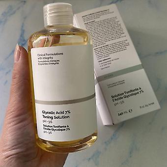 Acide glycolique ordinaire, peau claire exfoliante douce, améliorent la texture de peau