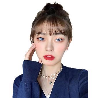 Farvede kontaktlinser til øjne-årligt Engangs