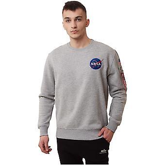 Alpha Industries Nasa Space 17830717 universal all year men sweatshirts