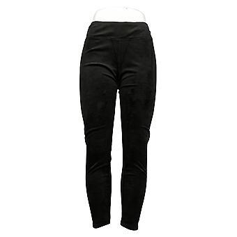 Cuddl Duds Women's Pants Fleecewear Stretch Leggings Black A308177