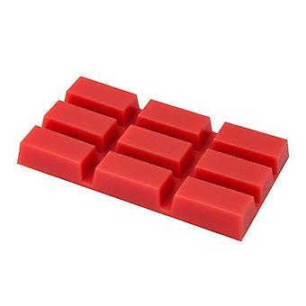 DEO Hot Film Red Wax Blocks for Professional Waxing - Natural Ingredients 500g