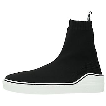 Givenchy Slip-On Logo Knitted Sock Black Trainers