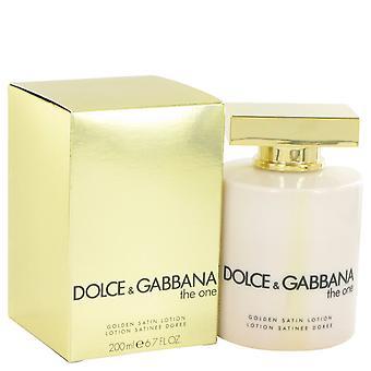 The One-kehittäjä: Dolce & Gabbana Golden Satin Lotion 6,7 oz