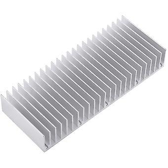 Wokex Aluminium Kühlkörper, Verstärker Kühlkörper Gute Wärmeleitfähigkeit Kühlkörper Kühl Flosse