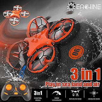 E016F 3 in 1 RC Quadcopter Drone Helicopter